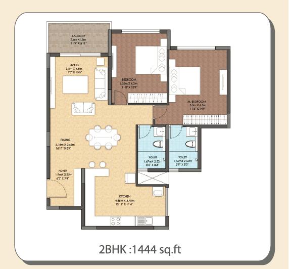 The Central Regency Address, Bangalore - Floor Plan