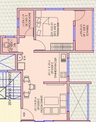 A and A Shriyog, Pune - Floor Plan