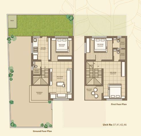 Vinayak Sparsh County, Gandhinagar - Floor Plan