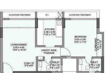 The Wadhwa Evergreen Heights, Thane - Floor Plan