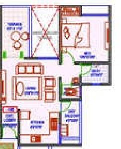 Dynamic Oasis , Pune - Floor Plan