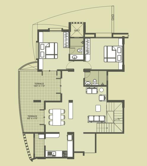 Kool Homes Signature, Pune - Floor Plan