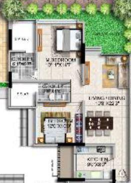 Paradigm Nivan, Mumbai - Floor Plan