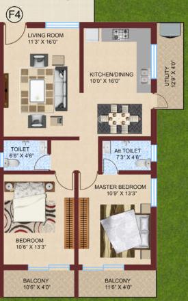 Shriya Elite, Hubli - Floor Plan