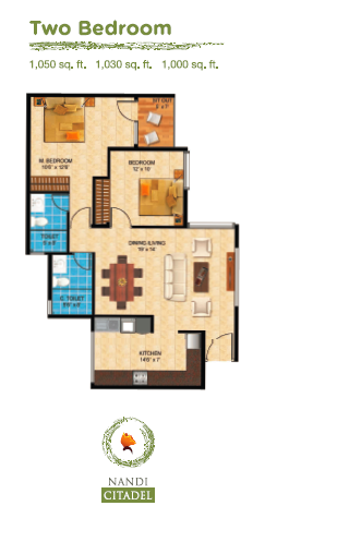 Nandi Citadel, Bangalore - Floor Plan