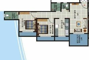 Shri Om Chintamani Residency, Mumbai - Floor Plan