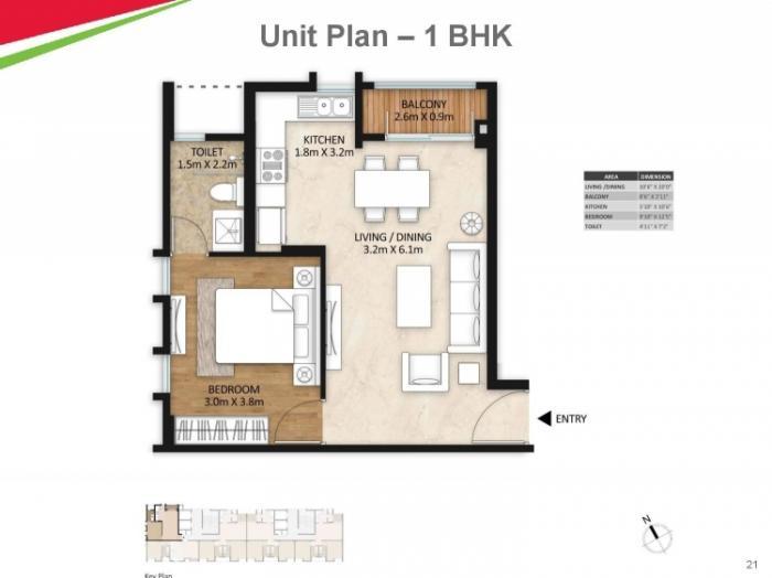 Mahindra Vivante, Mumbai - Floor Plan
