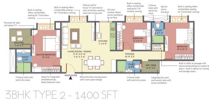 Patel Smondo 2, Bangalore - Floor Plan