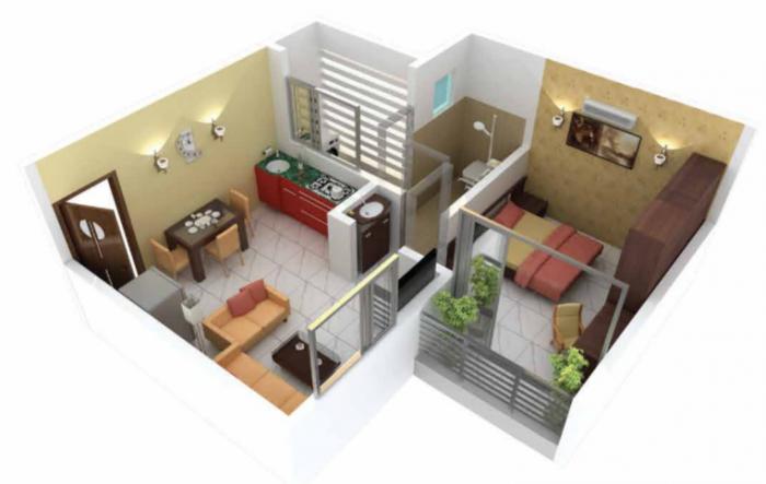 Shreeji Aura, NaviMumbai - Floor Plan