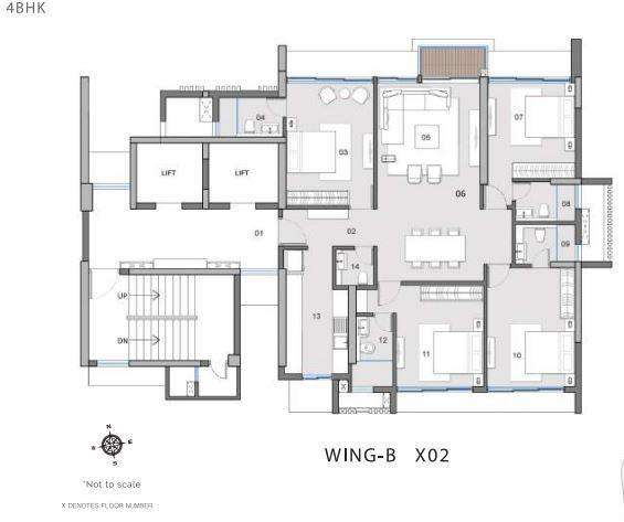Sixty Four Greens, Mumbai - Floor Plan