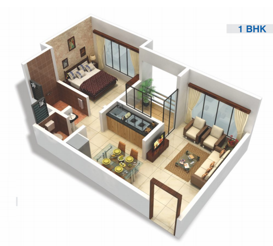 Viva City A3, Mumbai - Floor Plan