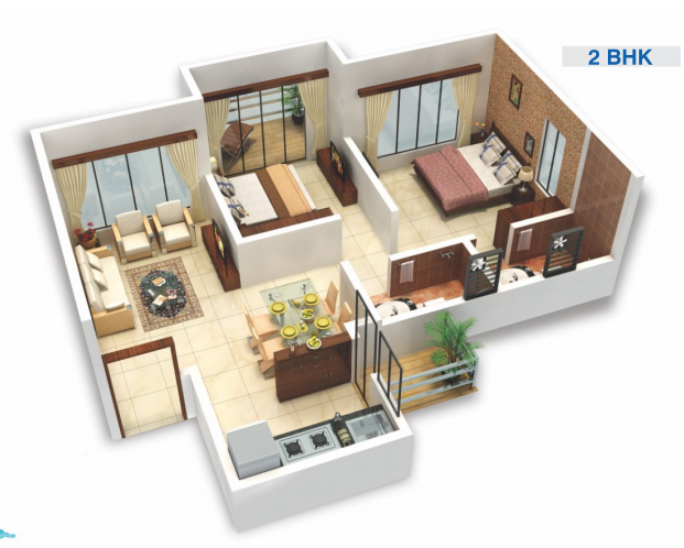 Viva City A9, Mumbai - Floor Plan
