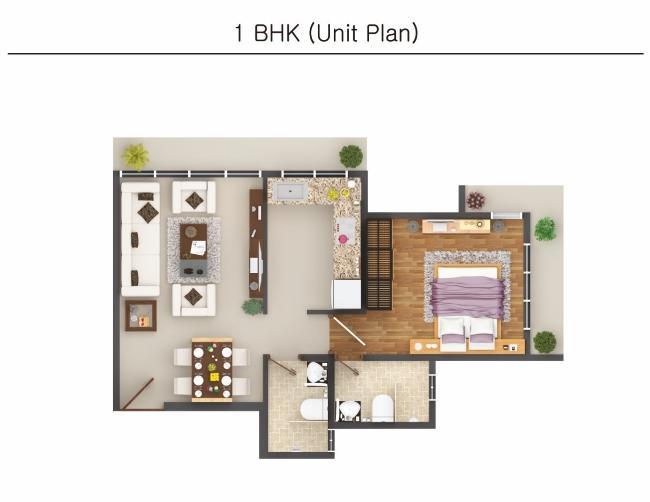 Neev Galaxy, Mumbai - Floor Plan