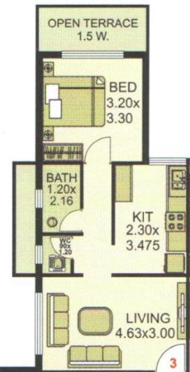 Ashiyana Lakeview, Mumbai - Floor Plan