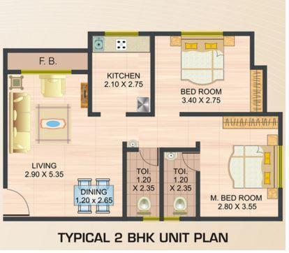 Mateshwari Regency, NaviMumbai - Floor Plan