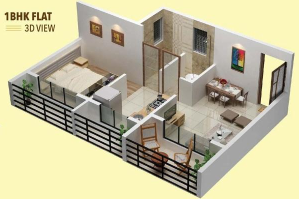 Prishty Krishna Valley Phase 1, Mumbai - Floor Plan