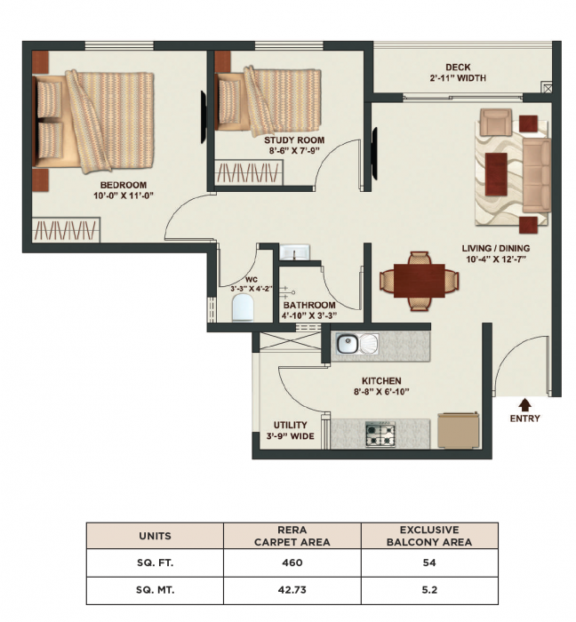 Tata New Haven, Bangalore - Floor Plan