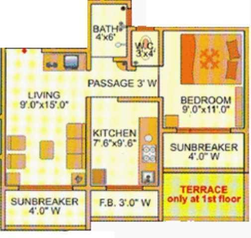 Amit Complex, Thane - Floor Plan