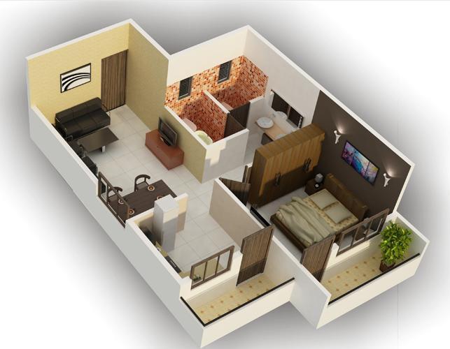 DSMAX SAROVAR, Bangalore - Floor Plan