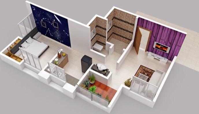 WS Srushti Orbit, Pune - Floor Plan