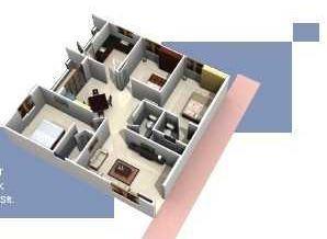 Nestcon Aishwarya, Bangalore - Floor Plan