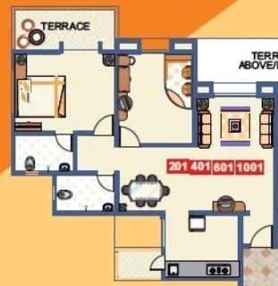 Vaishnavi Sahil Heights, Pune - Floor Plan