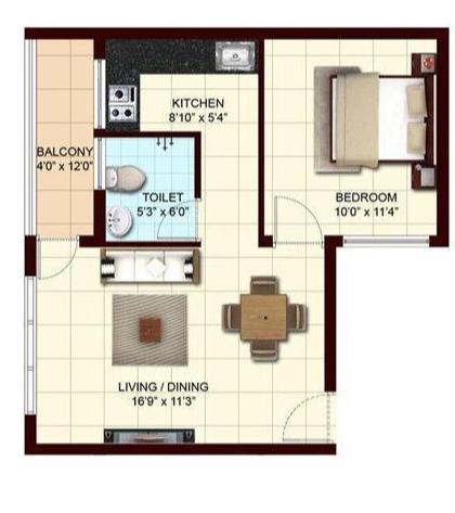 Marg Pushkara, Chennai - Floor Plan