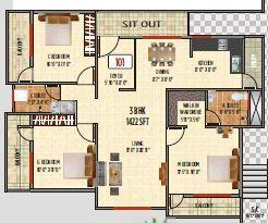 Vaastu Residency, Bangalore - Floor Plan