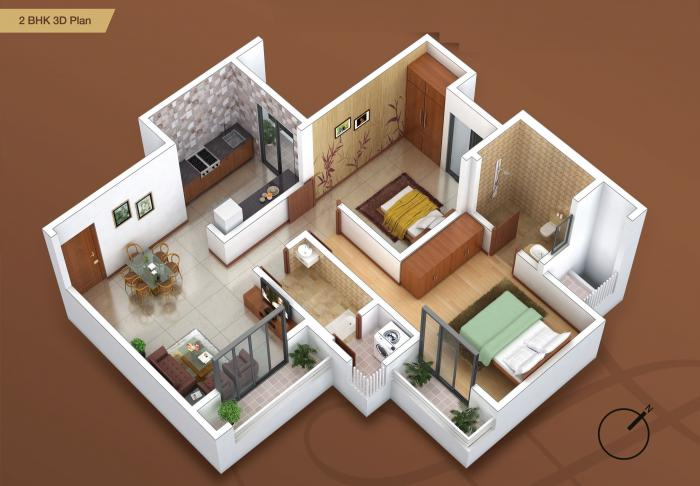 Sai Shrushti Annex, Thane - Floor Plan