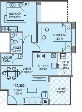 Manjri Greens Annexe, Pune - Floor Plan