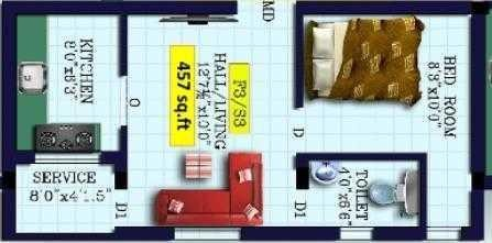 MS Brisa, Chennai - Floor Plan