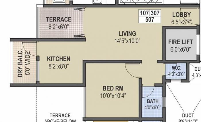 Moze Dream Savera, Pune - Floor Plan