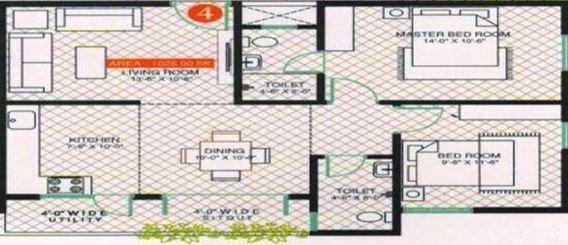 Citadil Kamakshi Nilaya, Bangalore - Floor Plan