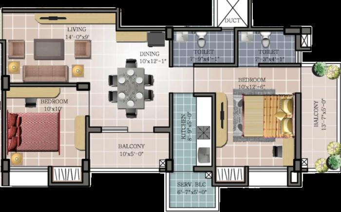 Maa Tara Rathnam, Bangalore - Floor Plan