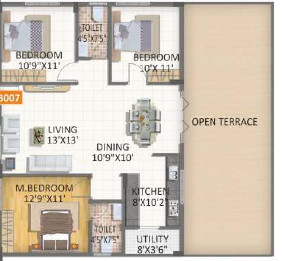SVS Trend Square Precioso, Bangalore - Floor Plan