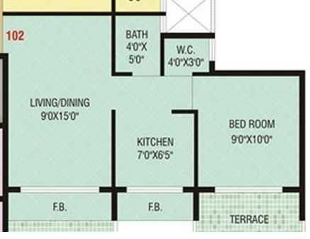 Today Shree Smaran, NaviMumbai - Floor Plan