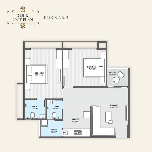 Ashapura Samanvay Residency, Ahmedabad - Floor Plan