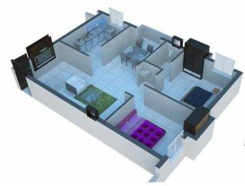 Sharivika Aishwaryam, Chennai - Floor Plan