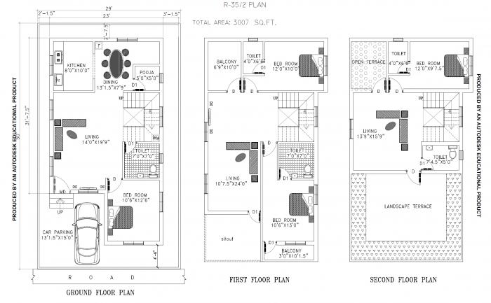 Vaikunds Sundaram Phase I, Chennai - Floor Plan