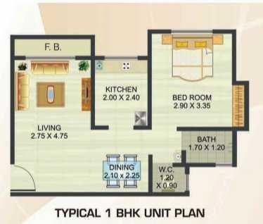 Reliable Heights, Mumbai - Floor Plan