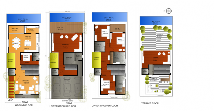 Green Athens, Chennai - Floor Plan