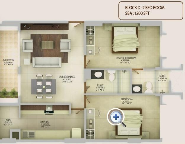 Pramuk Aqua Heights, Bangalore - Floor Plan
