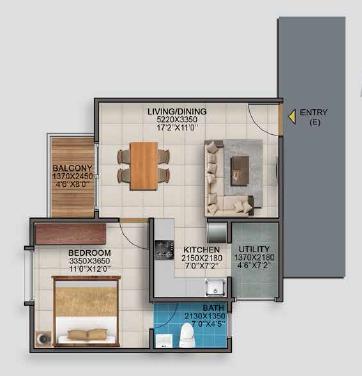 Vaishnavi Serene, Bangalore - Floor Plan