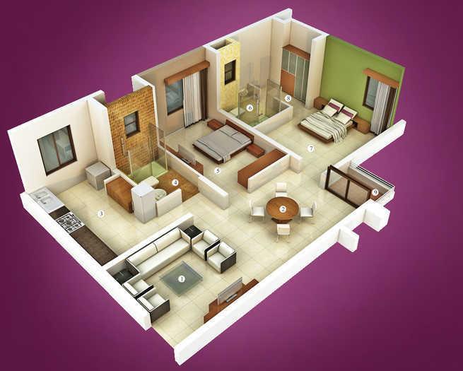 Vascon Tulips Phase I, Coimbatore - Floor Plan