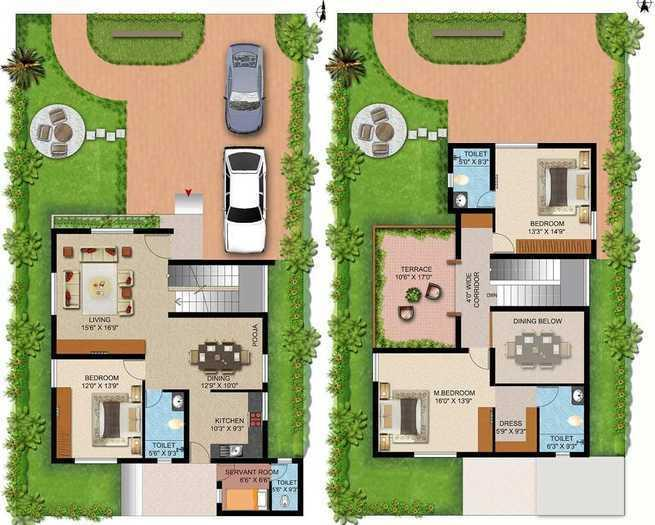 Elysium Flushing Meadows, Coimbatore - Floor Plan