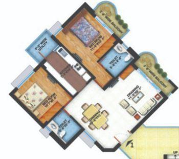 Ramnath City Phase II, Nagpur - Floor Plan
