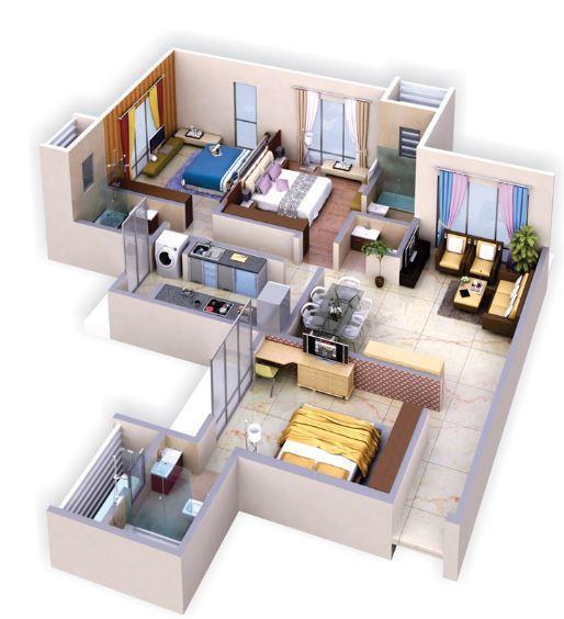 Advent Palazzo, Mumbai - Floor Plan