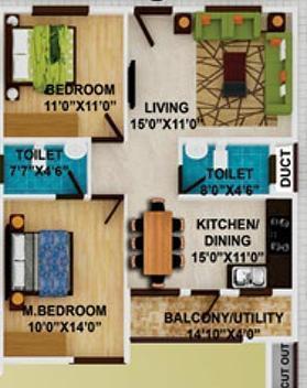 DS Max Starline, Bangalore - Floor Plan