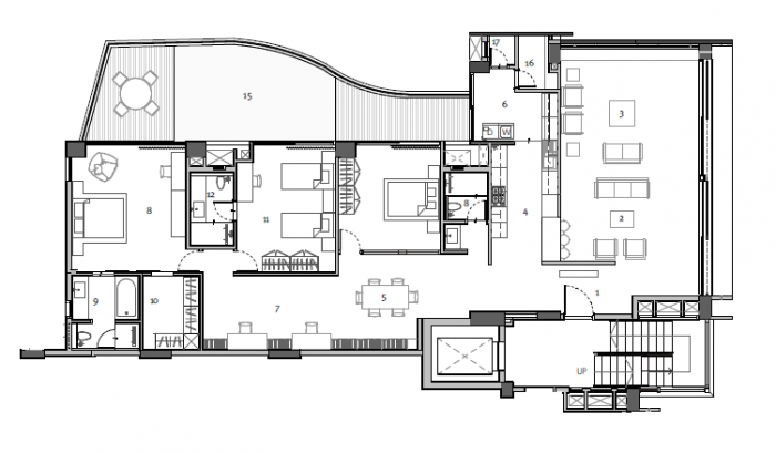 Total Environment Lost In The Greens, Bangalore - Floor Plan