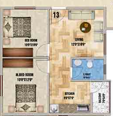 DS Max Splendid, Bangalore - Floor Plan